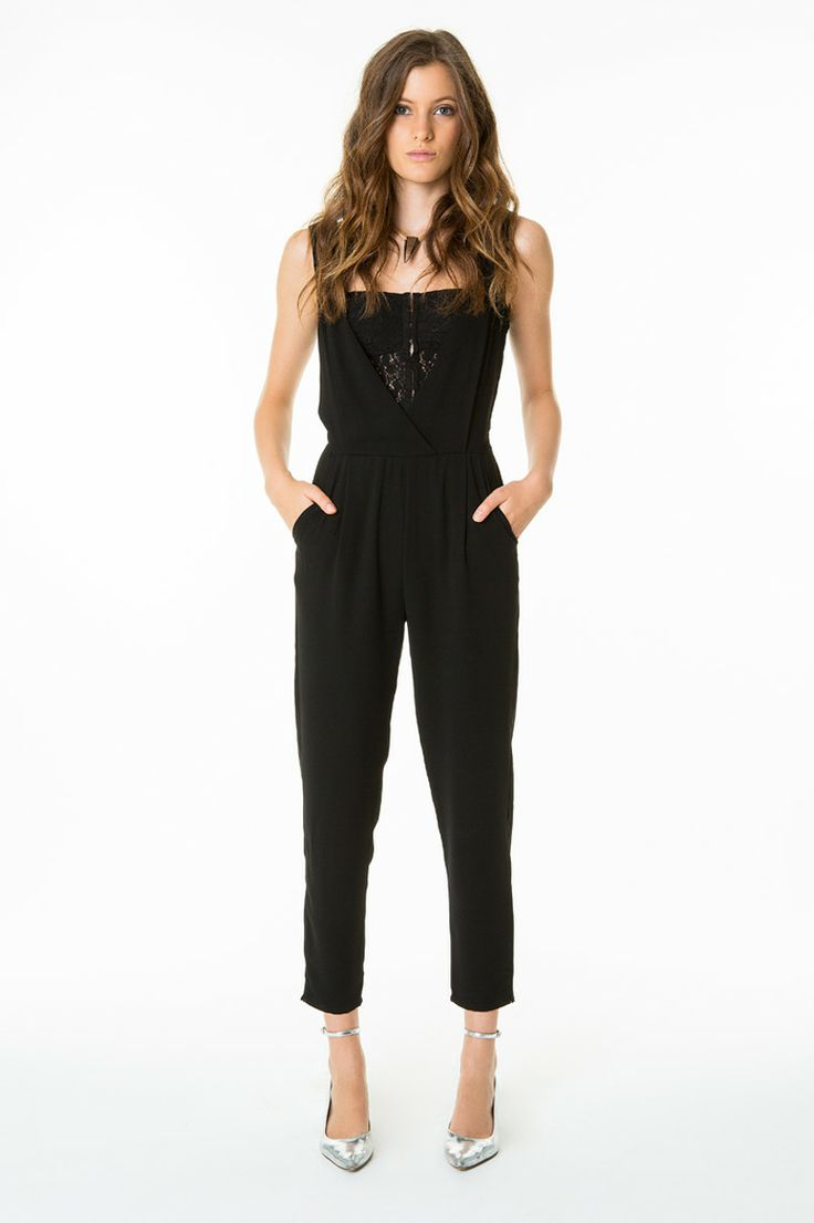 party lace jumpsuit tallyweijl musthave. Black Bedroom Furniture Sets. Home Design Ideas