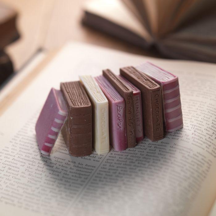 Chocolate Miniature Books