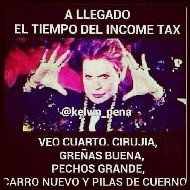 Income Tax Chistes En Espa 241 Ol Amp Dominican Jokes