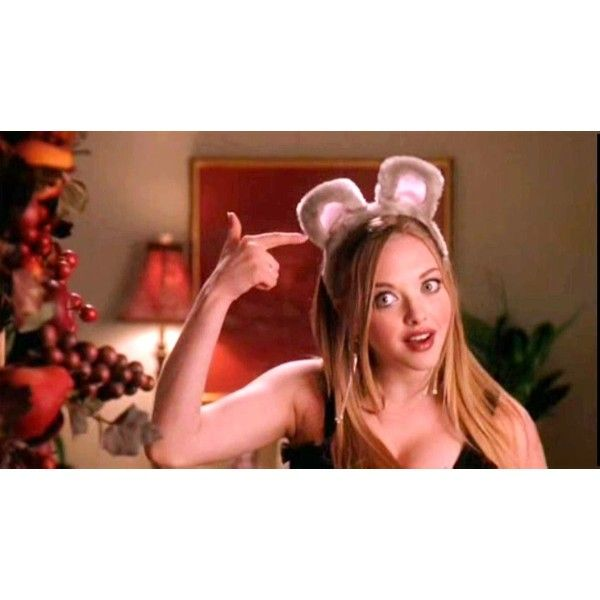 Amanda Seyfried as Karen Smith in Mean Girls ❤ liked on Polyvore