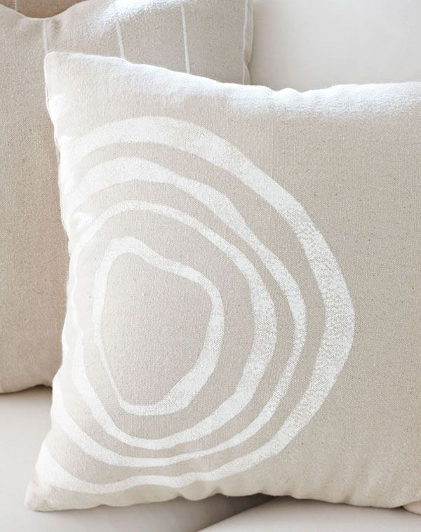 Handmade Gifts Ideas : Stenciled pillow...  https://diypick.com/diy-gifts/handmade-gifts-ideas-stenciled-pillow/