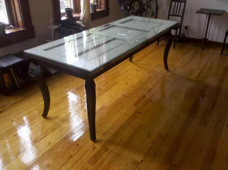 Repurpose An Old Door As A Dining Room Table | Green Part 98