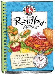 Rush-Hour Recipes Cookbook, now available as an eBook for your Kindle, Nook, Apple, Kobo & Sony devices.