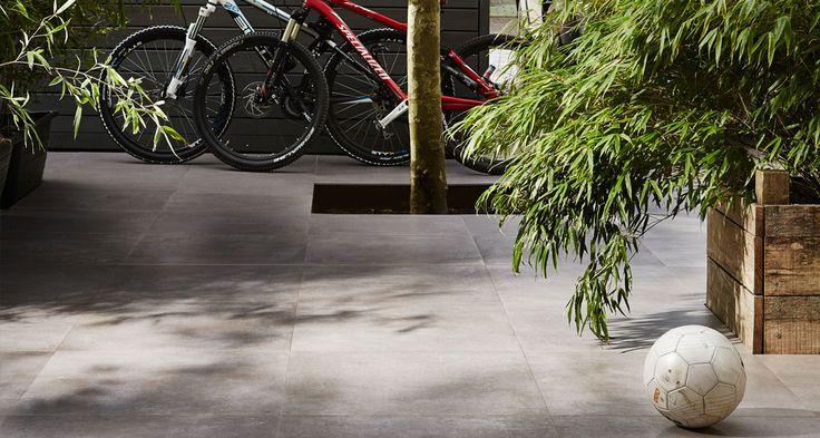 Duostone uni Cemento Taupe in 60x60 cm