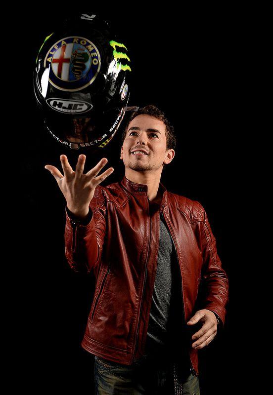 "Jorge Lorenzo is the ""Alfa Romeo Fan of the year"" 2014"