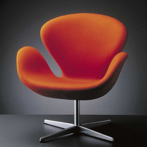 Arne Jacobsen's Swan Chair