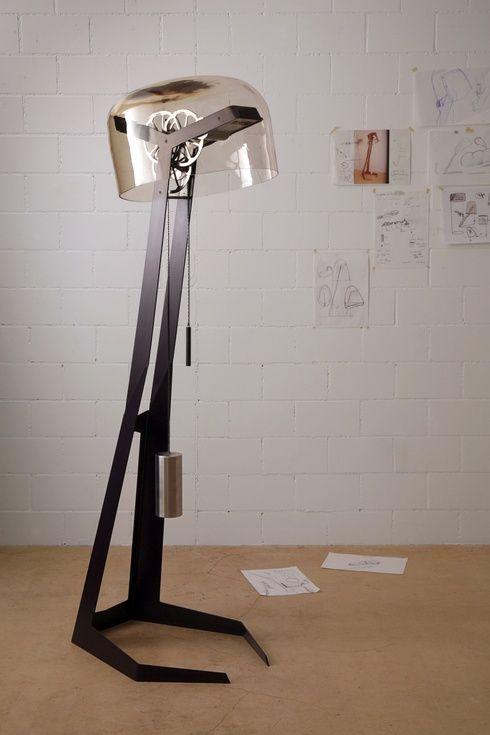 industrialna lampa stołowa oświetlenie