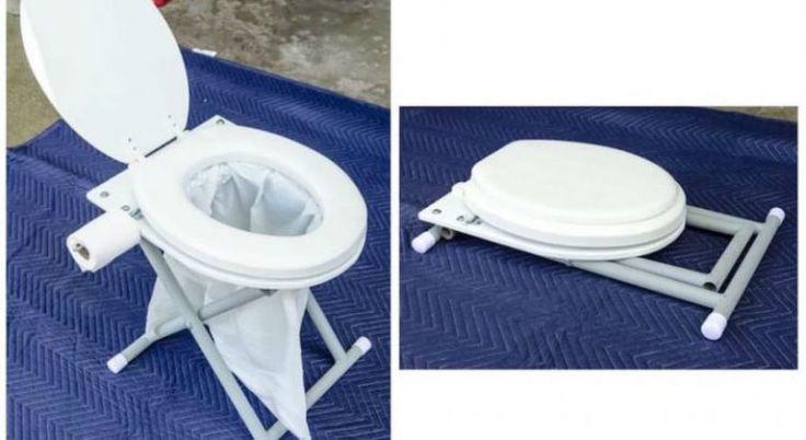 Делаем складной туалет для дачи или кемпинга — Мир Растений