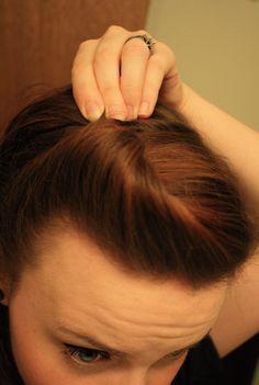 Schnelle und einfache Retro - Frisur dieLebensdauer derLulubelle