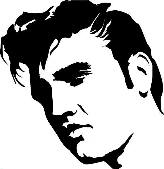 Elvis Pop Art Vinyl Decal by IkonicDesign on Etsy, $10.00 HAHAHAHA love it