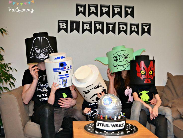 Des idées gâteaux, déco et costumes pour organiser un anniversaire Star Wars.