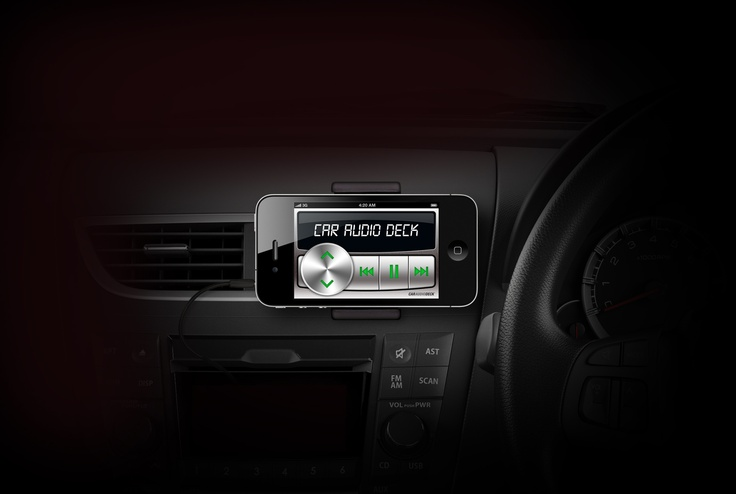 Car Audio Deck app for iPhone & iPod touch