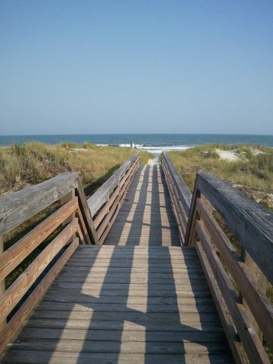 Sunset Beach Nc Boardwalk Beach Life Pinterest