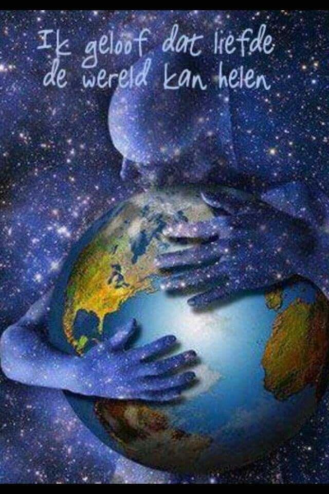 Liefde kan de wereld helen
