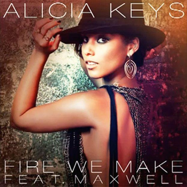 Music Video: Alicia Keys - Fire We Make, Cover Art, Album Art, #Musicians #Musician, Wekosh.com