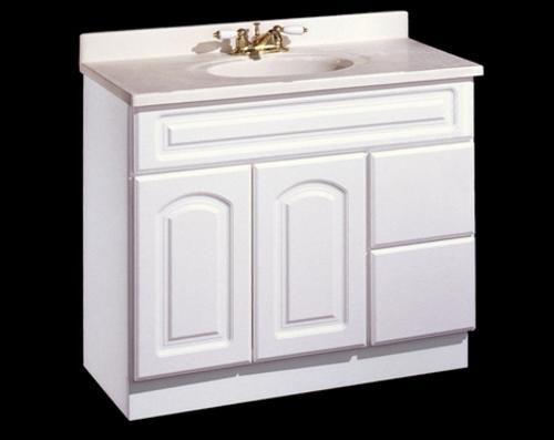 vanity base- menards 36 x 18 | Upstairs Bathroom | Pinterest
