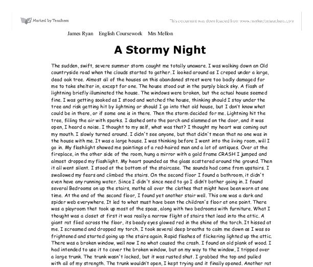 'storm catchers' essay Free essay on gods and mortals in the odyssey available totally free at echeatcom, the largest free essay this storm was so violent it almost killed him.