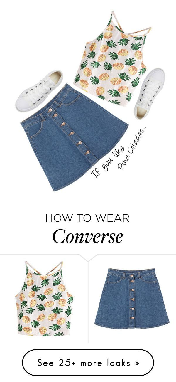 """Untitled #117"" by gabby23-2 on Polyvore featuring WithChic, Monki and Converse"