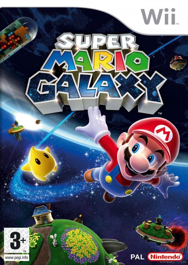 Super Mario Galaxy - box art rocks!