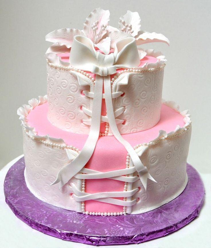 17 Best ideas about Corset Cake on Pinterest Lingerie ...