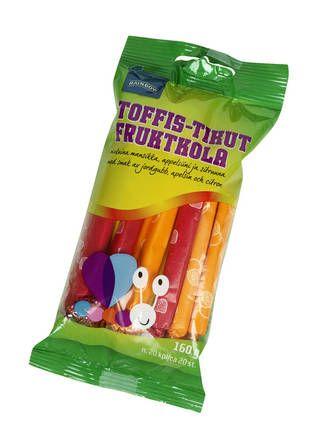 Rainbow : Rainbow Toffis-tikut 160 g, n. 20 kpl