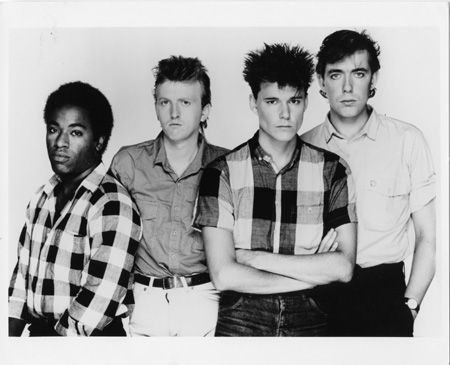 Big Country promo shot from 1983
