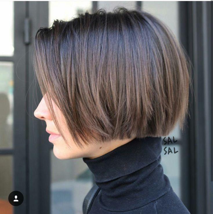 Short blunt haircut ✂️