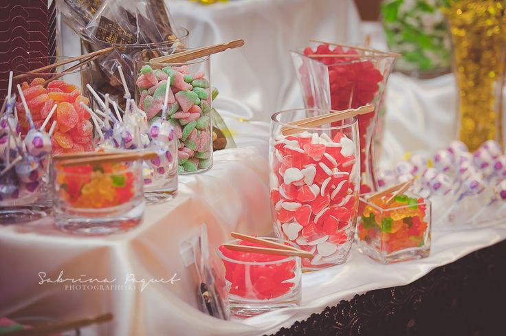Mariage à l'Hôtel Château Laurier Québec - Bar à bonbons - #wedding #candy #deco