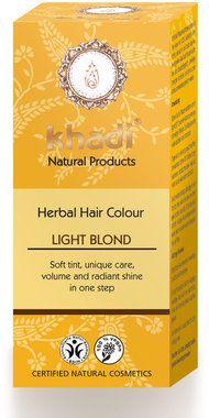 Khadi® Khadi Herbal Hair Colour Light Blond