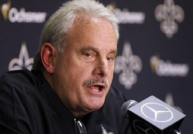 Interim Head Coach of the New Orleans Saints Joe Vitt