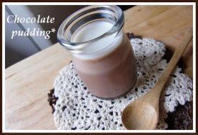 「冷菓レシピ ふわとろ二層のチョコプリン」chiaki | お菓子・パンのレシピや作り方【corecle*コレクル】