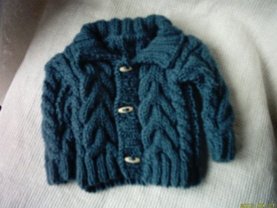 irish boy sweater and hat newborn by crochetfifi on Etsy