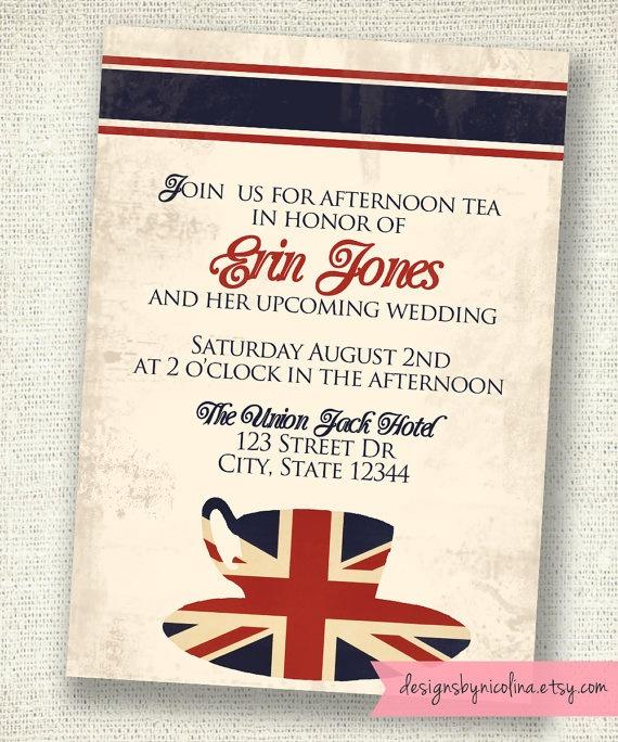 9 best British Birthday Tea images on Pinterest England, London - best of invitation english