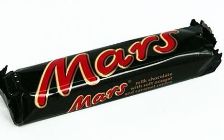 Mars bar in its wrapper. | Polish and English food and things ...