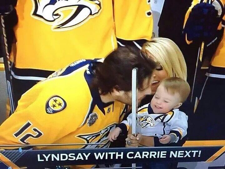 44 best fellow girl hockey fans images on pinterest for Who is carrie underwood married too