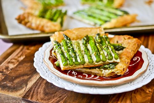 Asparagus and Gruyere Tart: Appetizers Snacks, Breakfast, Asparagus, Appetizers Pizzas Tarts, Brunch, Favorite Recipes, Appetizers Sides Snacks