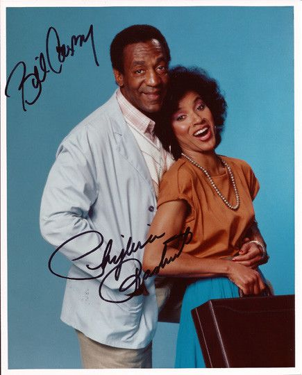 Collectible TV Legend Bill Cosby and Phylicia Rashad Dual Autograph Hand Signed Photo