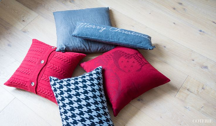 Christmas pillows e.g. by Iittala, Zoeppritz and Eight Mood
