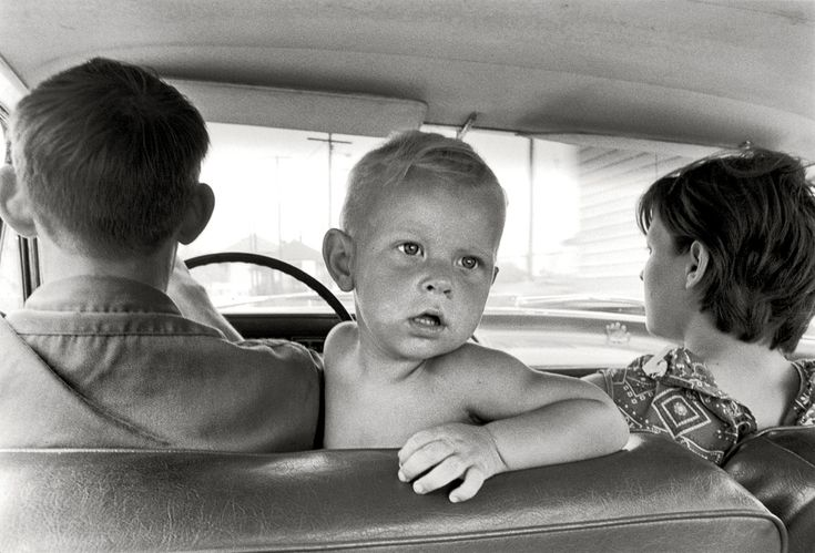 1972 - No seat belts or baby seats back in the day.