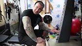 Forearm Training for Mass   Build Big Forearms   Sledge Finger Walks - YouTube