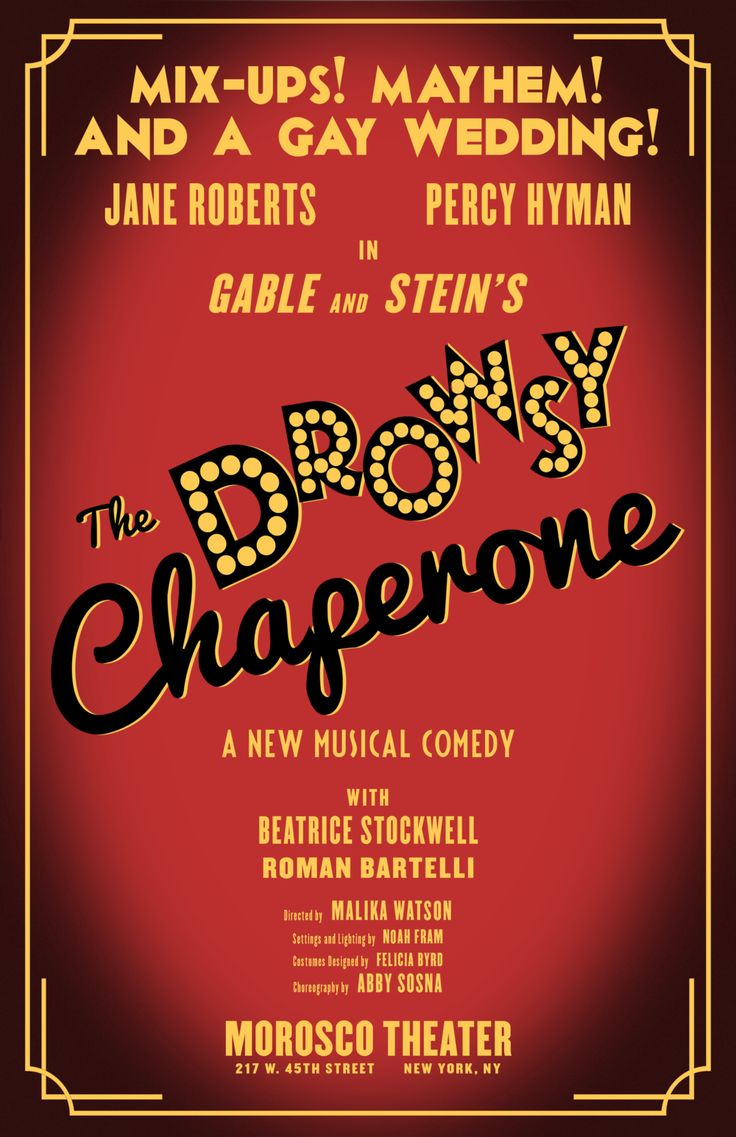 A chorus line with mara davi begins at marriott theatre - The Drowsy Chaperone