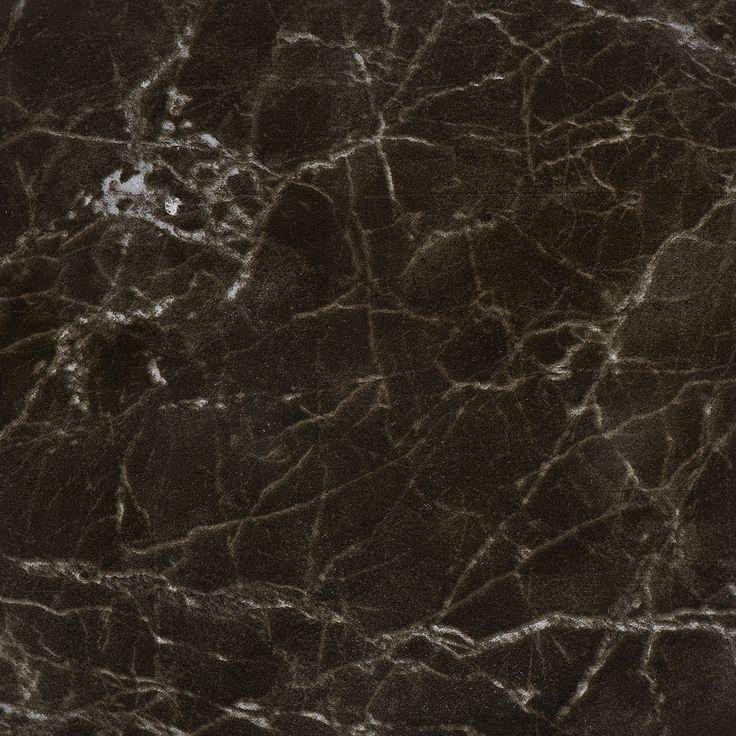 #Bricmate M1515 Noir St. Laurent 15x15. Marmorinspirerad granitkeramik med härlig variation. Sammetslen yta likt en slipad marmor.