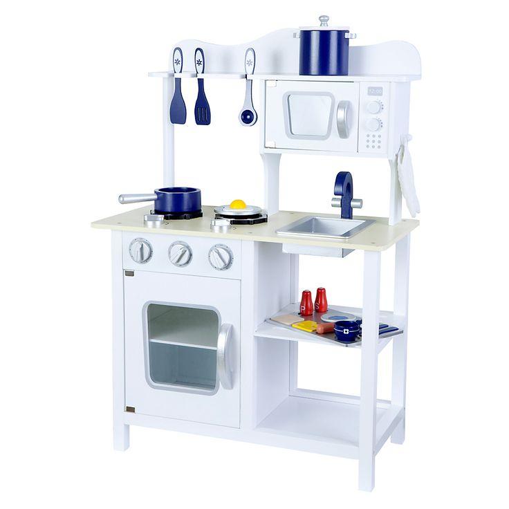 Cocina de Madera Blanca Kidscool - Falabella.com