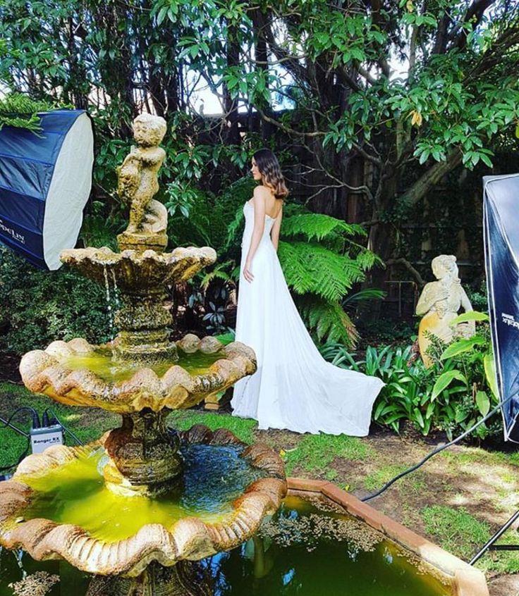 Emily Dress By Shehzarin Batha. Spring/Summer 2017 #frenchchantilly #beaded #weddinginspirations #weddinglocations #corsetweddingdress #chiffonweddingdress #madeinmelbourne #Shehzarin