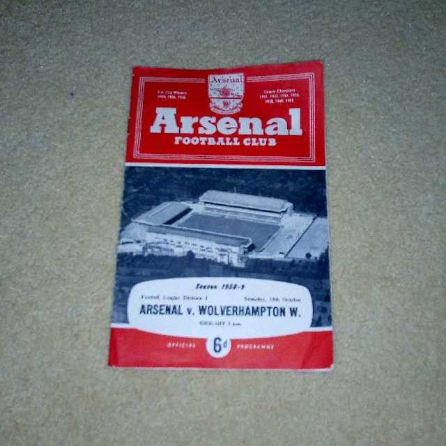 1950 Arsenal match day magazine! I own this!