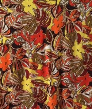 Maglina fantasia foglie