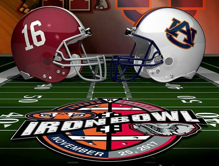 Iron Bowl ALABAMA Football vs Auburn