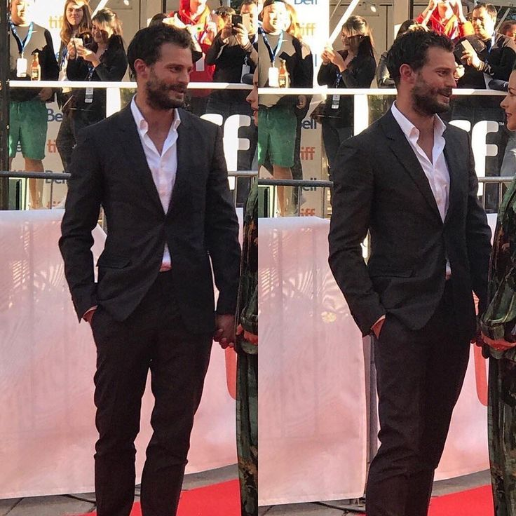 Jason Momoa 50 Shades: Jamie & Millie, #TIFF 2017 'Mary Shelley' Red Carpet