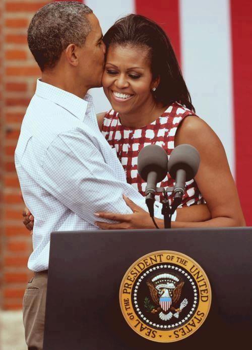 Love....President Barak Obama.... cf 1st Lady Michelle Obama....