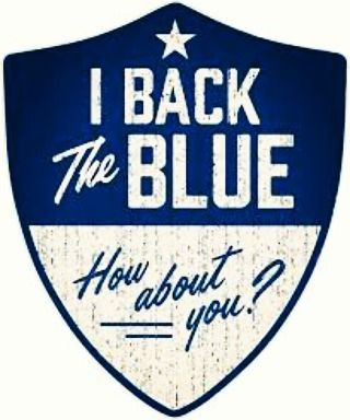 Today is the 1 year anniversary of the five Dallas police officers that lost their lives. In remembrance of this day, Gas Monkey Live #BacksTheBlue do you? #thebluehasmyback